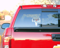 Amazon.com : Bowtech 3 layer color viny decal for truck windows, bow ...