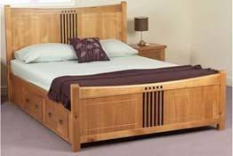 Wooden bed base Wayfair Capella Wooden Bedframe Mybedframes Capella Wooden Bed Frame