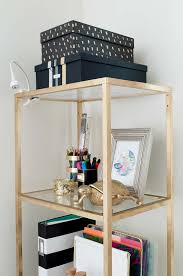home office diy ideas. Turn A Shoebox Into Trendy Storage Box For Your Home Office With Gold Leafing Diy Ideas