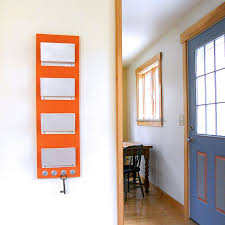 office door mail holder. FAMILY MAIL ORGANIZER: Wall Mount Family Mail Organization, Orange Modern Storage Key Hooks For Office Or Home Entry Decor. Door Holder A