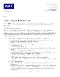 bid proposal template example xianning bid proposal template example construction proposal format html template of contractor bid proposal