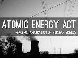essay on the uses of atomic energy