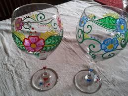 his and hers custom wine gl