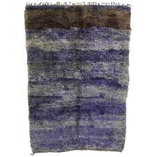boho chic berber moroccan rug with modern style for