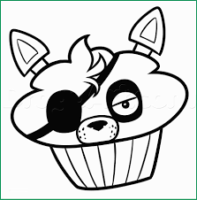Five Nights At Freddys Coloring Pages Foxy Admirable Mangle And