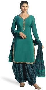 Amazon Punjabi Suits Design Stylishfashion Indian Wear Embroidered Womens Pakistani Punjabi Patiala Salwar Kameez Embroidery Ready To Wear Salwar