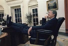 jimmy carter oval office. President Jimmy Carter Relaxed At His Desk In The Oval Office April 1978
