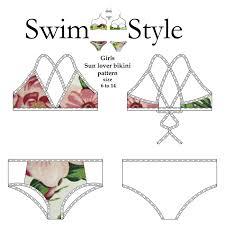 Bikini Patterns Magnificent Decoration