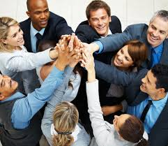 working as a team team bonding small business pulse