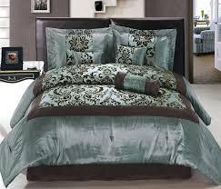 chocolate brown comforter sets elegant blue and brown comforter sets king chocolate bedding within aqua decor chocolate brown comforter