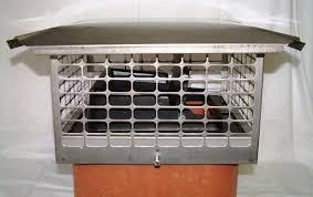 spark arrestor chimney cap system