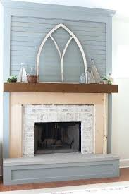 updated brick fireplace fireplace makeover in progress updated brick fireplace