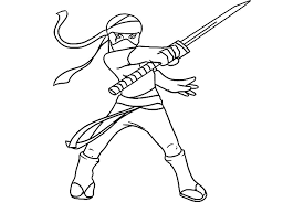 Small Picture ninja coloring pages
