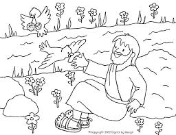 Small Picture Elijah Fed by Ravens Coloring Page craft Pinterest Ravens