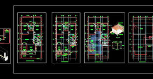 Method of drawing isometric scale: Autocad House Plan Architectural Dwg Drawing Download 35 X70 G 2 Floor Autocad Dwg Plan N Design