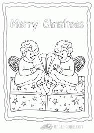 Small Picture Coloring Pages Of Baby Angels Free Christmas Coloring Pages Baby