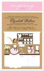 Kitchen Bridal Shower Kitchen Bridal Shower Invitation Ideas Wedding Invitation Sample