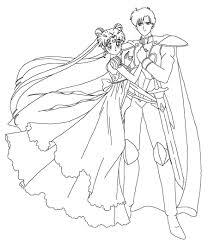 Princess Serenity Coloring Pages Unique Sailor Moon Gallery Itc