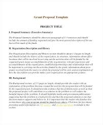 Short Project Proposal Template 9 Examples Samples Doc Sample Pdf ...