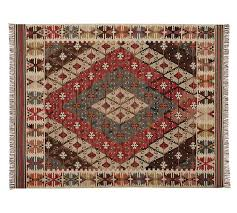 rosario kilim recycled yarn indoor outdoor rug