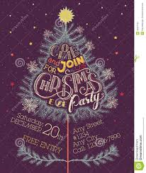 christmas eve party invitation stock vector image  christmas eve party invitation