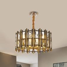 drum pendant lamp contemporary faceted