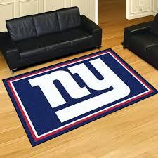 ny giants rug new giants 5 x 8 area rug ny giants bathroom rug ny giants