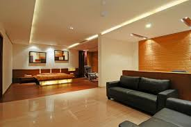 Interior Design For Apartment Living Room Mesmerizing Bangalore Duplex Apartment By ZZ Architects