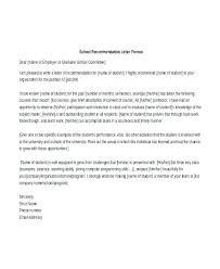 Professional Recommendation Letter From Employer Reference To School
