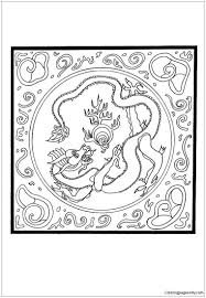 Small Picture Dragon With Pearl Mandala Coloring Page Free Coloring Pages Online