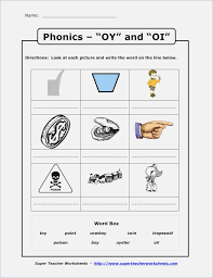 Diphthongs Oi Oy Worksheets – webmart.me