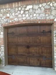 garage door wood look16 best faux painted garage doors images on Pinterest  Garage