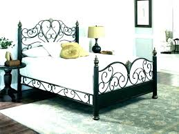 Queen Size Nail Head Bed Frame W Leather Headboard And Footboard ...