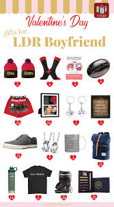valentines day gifts for long distance boyfriend