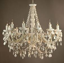 large white chandelier review