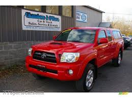 2005 Toyota Tacoma V6 TRD Sport Access Cab 4x4 in Radiant Red ...