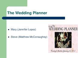 Wedding Planner Ppt Ppt The Wedding Planner Powerpoint Presentation Id 6904073