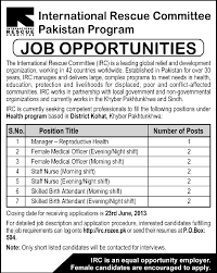 Medical Officer Job Description Manager Medical Officer Jobs in International Rescue Committee 1