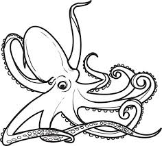 Small Picture Free Printable Octopus Coloring Page for Kids 2