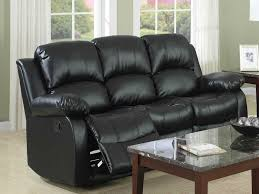 black leather reclining sofa. Awesome Black Leather Reclining Sofa Brown Impressive Recliner L
