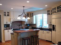 image of images of two tone kitchen cabinets