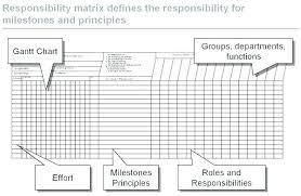 Project Management Roles And Responsibilities Matrix Template Best