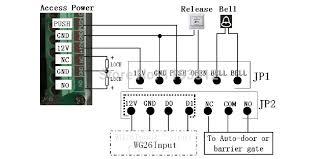 125khz rfid proximity card access control system rfid em keypad rfid card access control unit manual at Rfid Access Control Wiring Diagram
