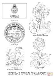 Small Picture Kansas State Symbols coloring page Free Printable Coloring Pages