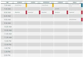 school schedule template school schedule template school day schedule template