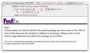 Outbreak Fedex Malware Security Carry Emails Fake – Number Naked Tracking