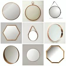 hexagon wall mirrors hexagon wall mirror hexagon mirror wall decor