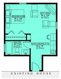 mother in law suite garage floor plan