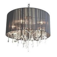 black drum chandelier with crystals eimatco world 9848p24 6 601 intended for black drum chandelier