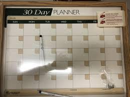 custom calendar dry erase board 2018 project graduation silent auction s auction